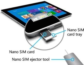 tablette carte sim 4g La Microsoft Surface 3 4G : qu'est ce que ça donne ?