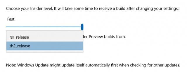 Redstone-Branch-Selection-Windows-10-Insiders