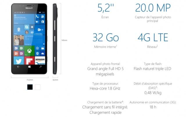 caracteristiques-lumia-950