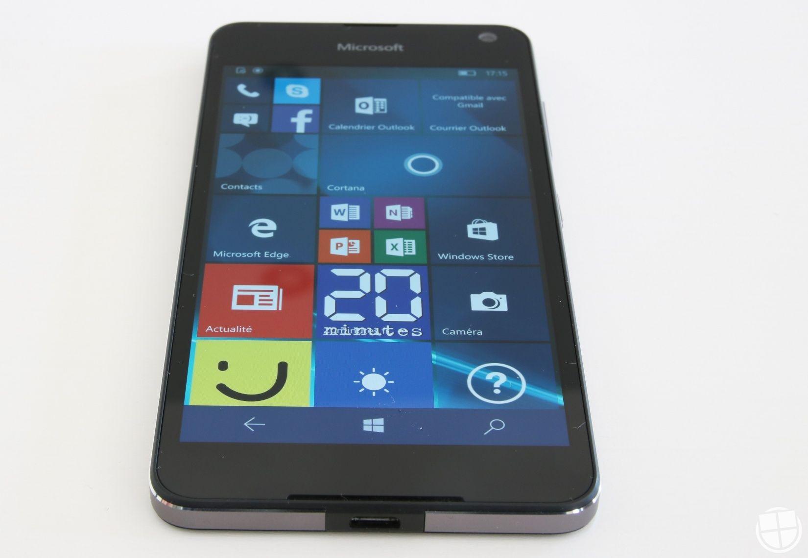 Test du Microsoft Lumia 650 sous Windows 10 Mobile ...