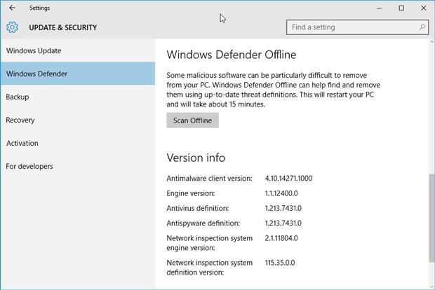 Windows-Defender-Offline
