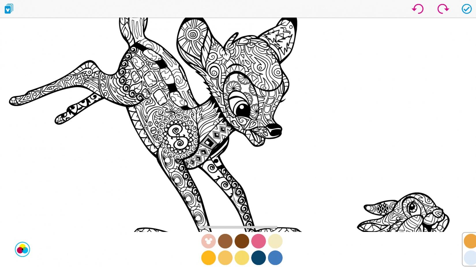 Art of coloring by disney une nouvelle application pour - Coloriage anti stress disney ...