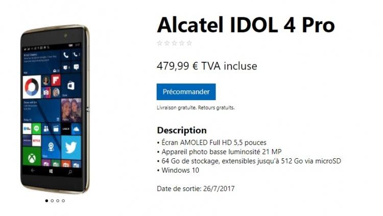 alcatel-idol-4-pro