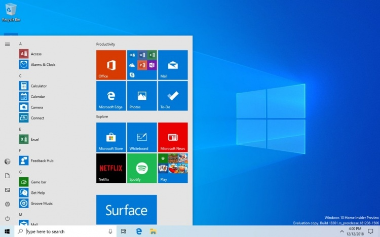 Windows-10-Start-19H1