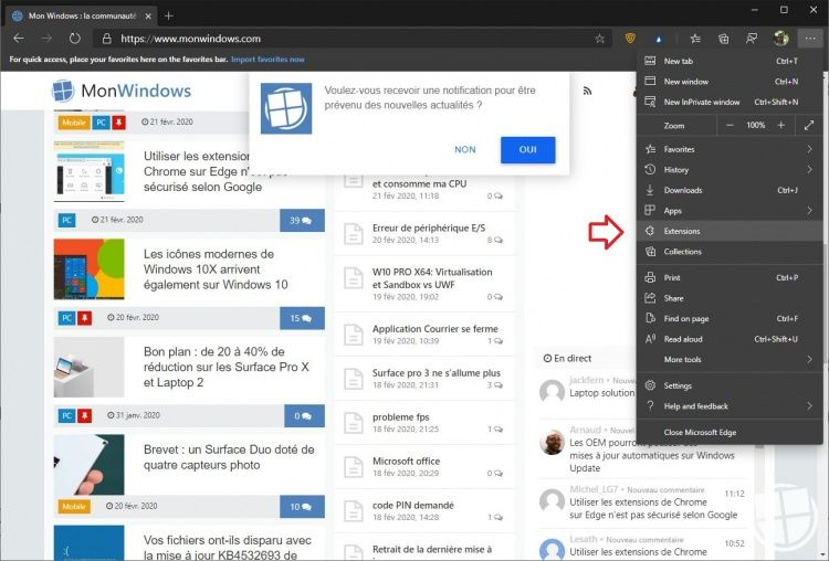 activer-extensions-edge