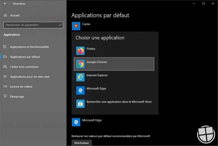navigateur-par-dA-faut-windows-10-chrome