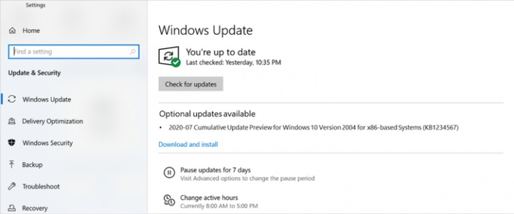 settings-optional-updates