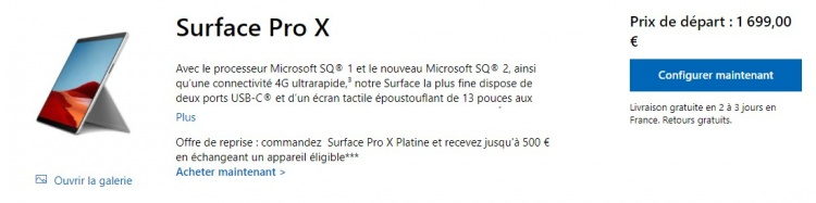 surface-pro-x-offre