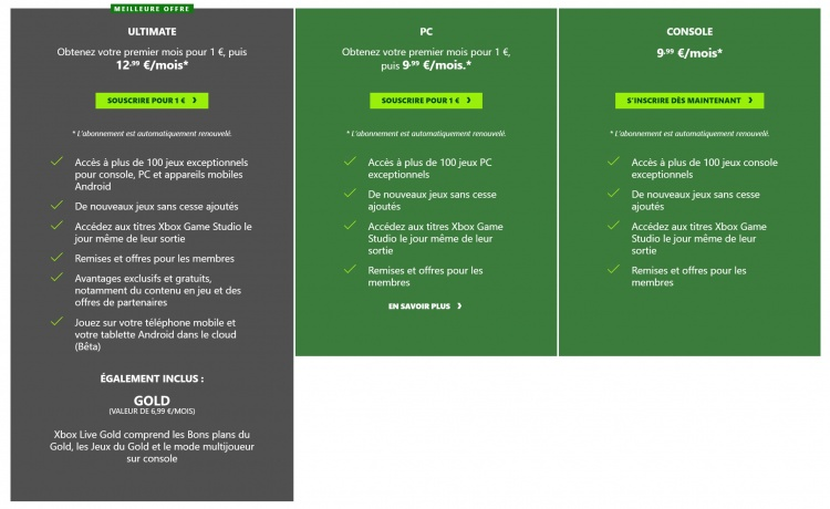 xbox-game-pass-formules
