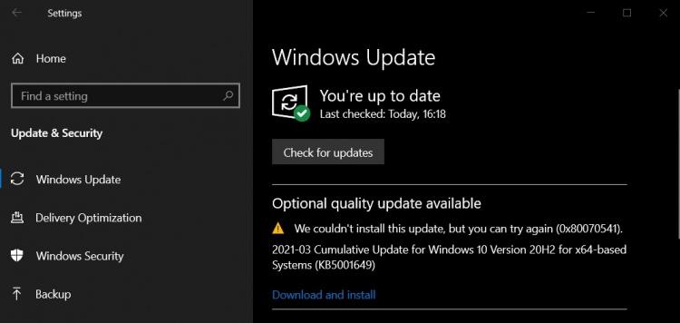 KB5001649-update-error-0x80070541-1
